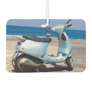 Scooter On The Beach | Ephesus, Turkey Car Air Freshener
