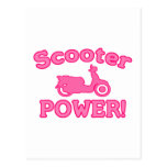 Scooter POWER! Postcard