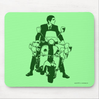Scooter Rider 2010 green Mouse Pad