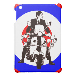 Scooter Rider on Mod Target iPad Mini Cover
