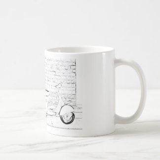 Scooter Skin Coffee Mug