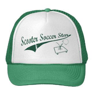 Scooter Soccer Star Trucker Hat