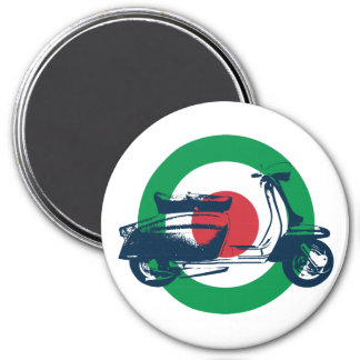 Scooter Target Italy Refrigerator Magnets