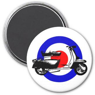 Scooter Target Fridge Magnet