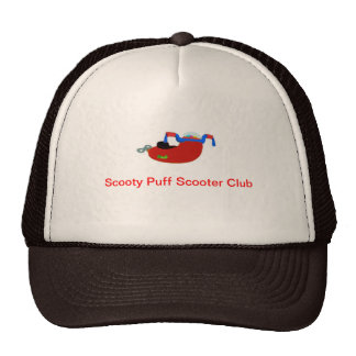 Scooty Puff Scooter Club official hat
