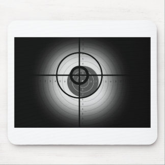 Scope Crosshair Mouse Pads