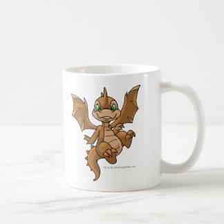 Scorchio Brown Basic White Mug