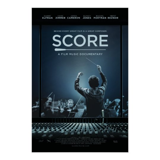 SCORE Baton Poster by Epicleff Media