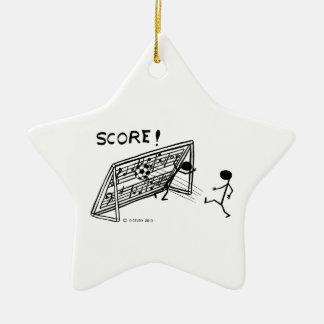 Score! Christmas Ornament