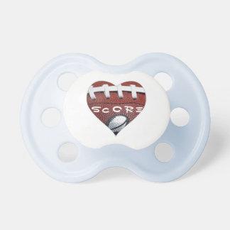 Score FOOTBALL Baby Pacifier