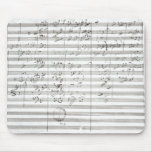 Score for the 3rd Movement of the 5th Symphony Mouse Mat