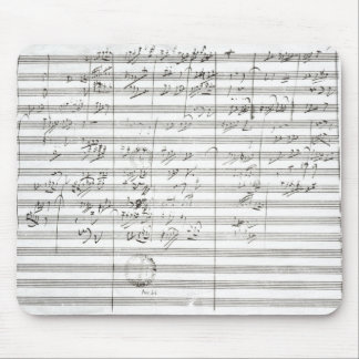 Score for the 3rd Movement of the 5th Symphony Mouse Pad