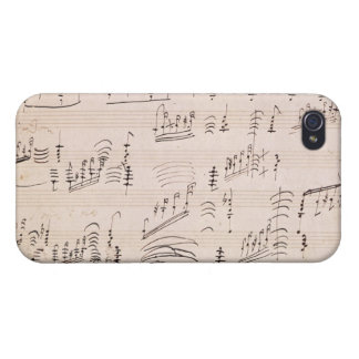 Score sheet of 'Moonlight Sonata' Case For The iPhone 4