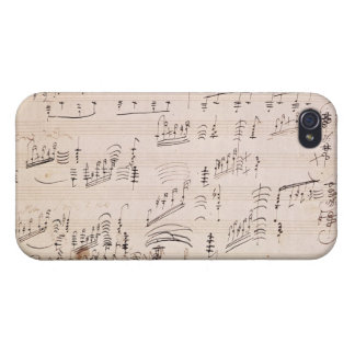 Score sheet of 'Moonlight Sonata' iPhone 4/4S Cover