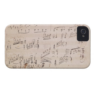 Score sheet of 'Moonlight Sonata' iPhone 4 Case-Mate Cases