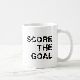 Score the Goal Acessories Basic White Mug
