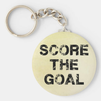 Score the Goal Acessories Key Chains