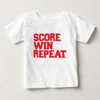 Score Win Repeat Baby T-Shirt