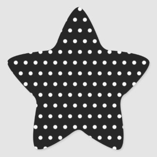 scored black (several products selected) star sticker