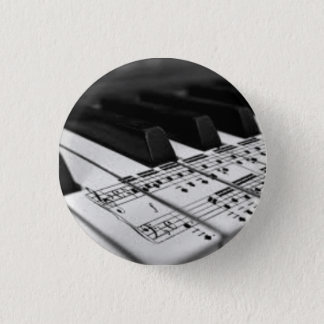 Scored on the Piano 3 Cm Round Badge