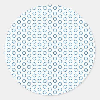 scored small dots sweet pünktchen dots round sticker