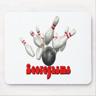 Scoregasms Bowling Mouse Pad