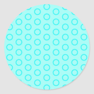 scores circles dots polka dab dabbed round sticker