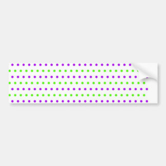 scores polka dots hots scored dab dabbed bumper sticker