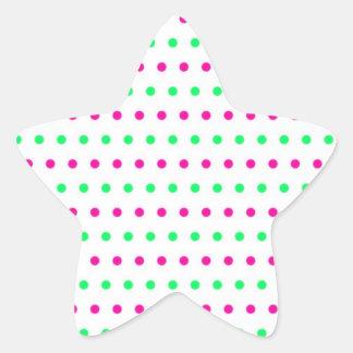scores polka dots hots scored dab dabbed star sticker