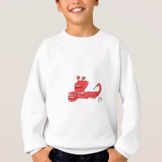 Scorpi crab sweatshirt
