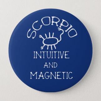 Scorpio 10 Cm Round Badge
