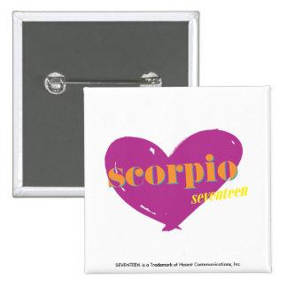 Scorpio 2 15 cm square badge