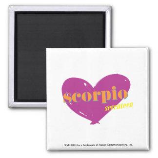 Scorpio 2 square magnet