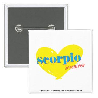 Scorpio 3 15 cm square badge
