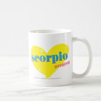Scorpio 3 coffee mug