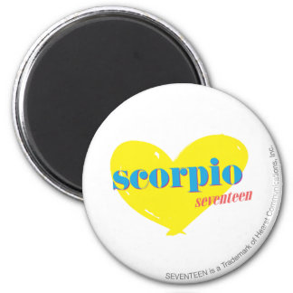 Scorpio 3 6 cm round magnet