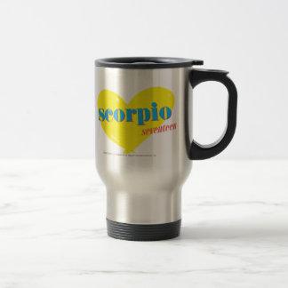 Scorpio 3 travel mug