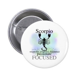 Scorpio About You 6 Cm Round Badge