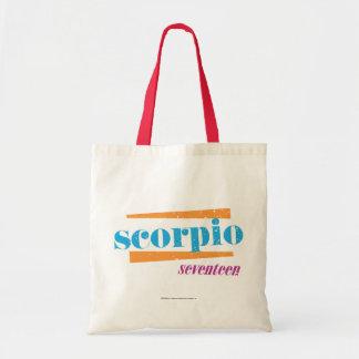 Scorpio Aqua Tote Bag