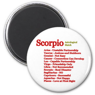Scorpio Astrological Match The MUSEUM Zazzle Gifts Refrigerator Magnet
