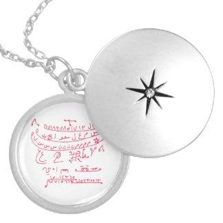 Scorpio Astrological Zodiac Good Luck Talisman Silver Plated Necklace