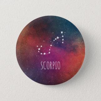 Scorpio Astrology 6 Cm Round Badge