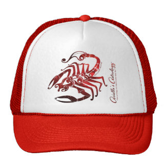 Scorpio Astrology Apparel ~ Cap