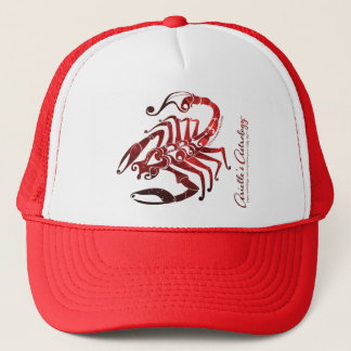 Scorpio Astrology Apparel ~ Trucker Hat