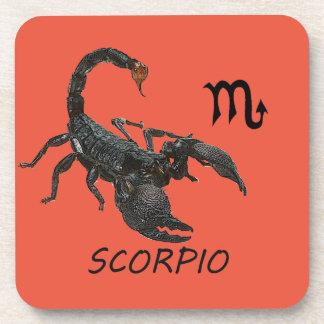 Scorpio astrology coaster