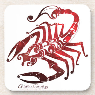 Scorpio Astrology Cork Coaster