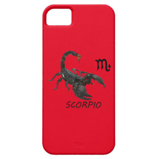 Scorpio astrology iPhone 5 cover