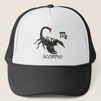 Scorpio astrology trucker hat