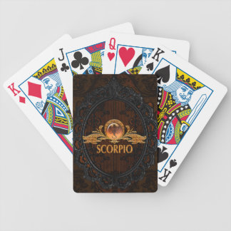 Scorpio Bicycle Playing Cards