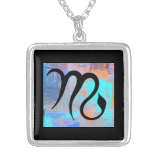 """""""SCORPIO"""" BIRTHDAY NECKLACE"""" SILVER PLATED NECKLACE"""